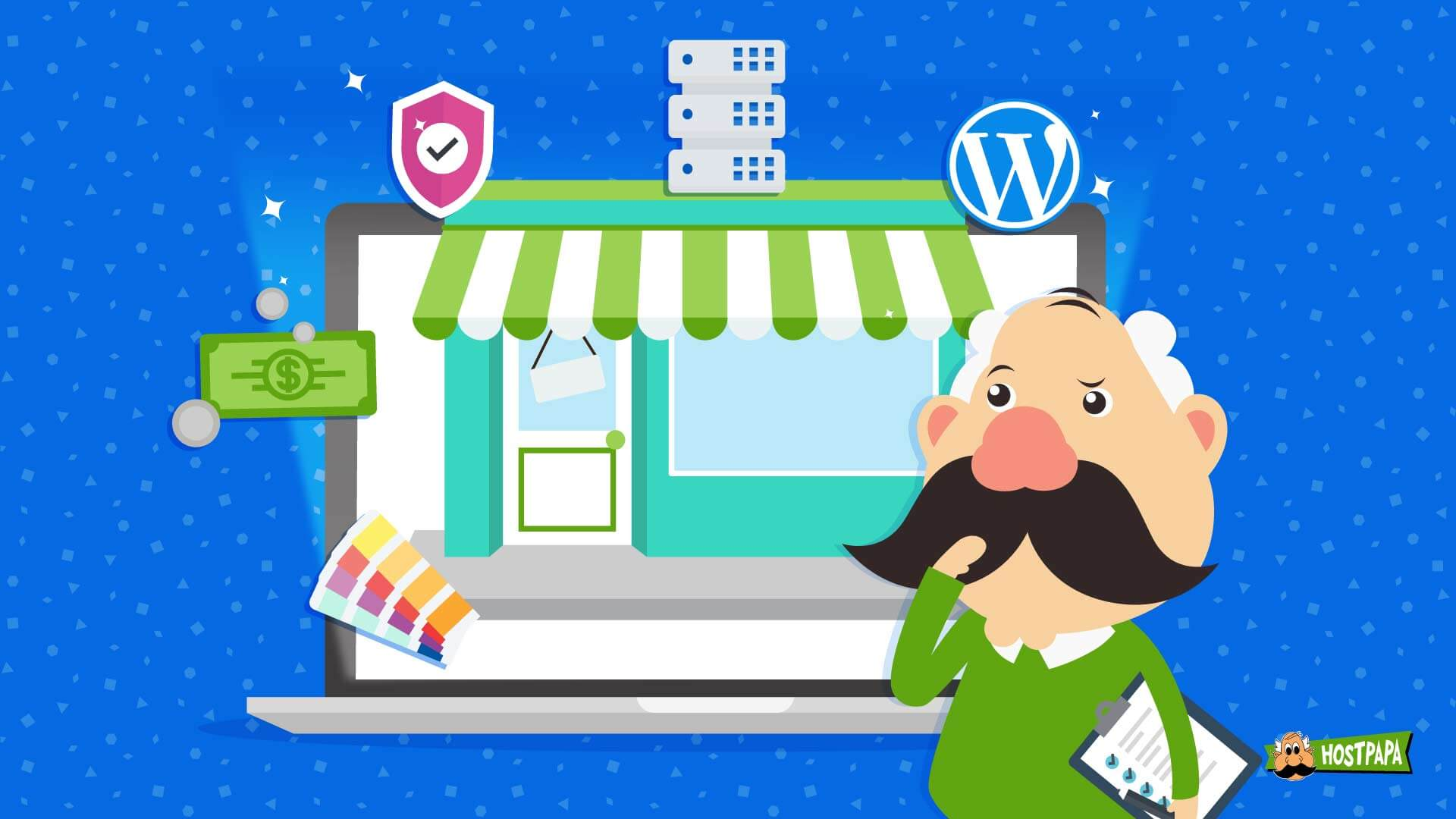 Small business website costs